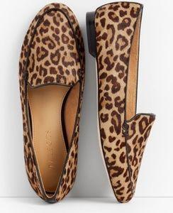 Talbots Ryan Loafer - leopard haircalf